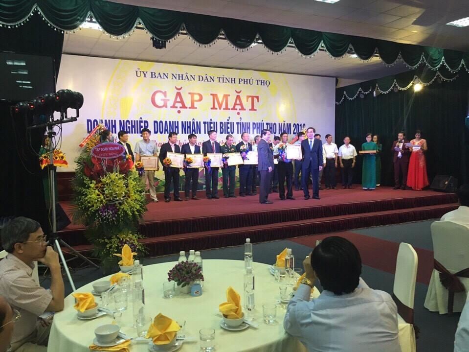 Gặp mặt doanh nhân tiêu biểu tỉnh Phú Thọ năm 2016
