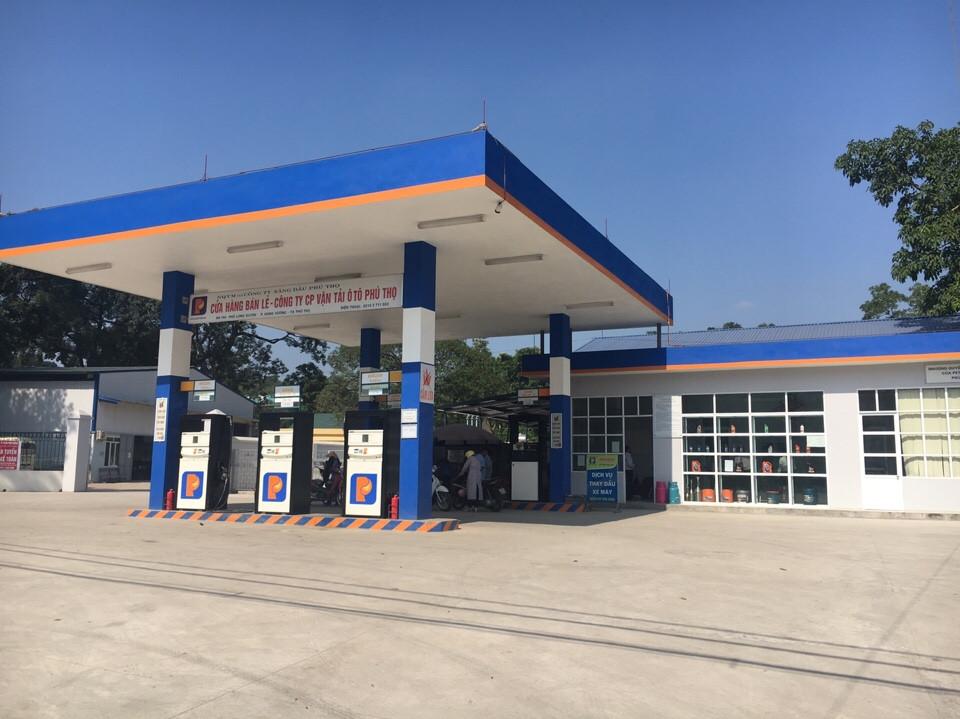 Khánh thành cửa hàng xăng dầu Phú Thọ